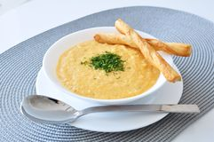Cream soup Royalty Free Stock Photos