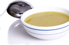 Cream soup..... Delicious bowl of vegetable soup Stock Photography