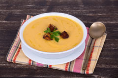 Cream soup Stock Photography