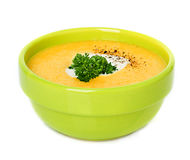 Cream soup Stock Images