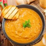 Cream soup Stock Photography