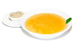 Cream soup with potato Stock Image