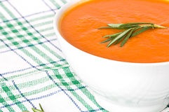 Cream soup Royalty Free Stock Image
