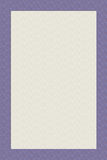 Cream stationary design with purple edge Royalty Free Stock Photo