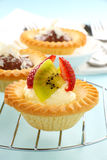Cream Strawberry Tart Stock Images