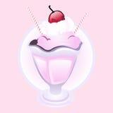 cream sundae льда Стоковая Фотография RF
