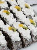 Cream sweets Stock Photo
