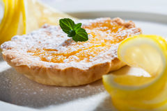 Cream tart Royalty Free Stock Photography