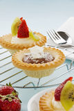 Cream Tarts Royalty Free Stock Photos
