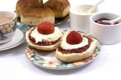 Cream tea Stock Images