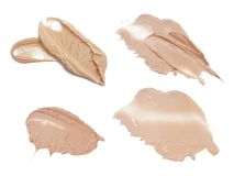 Cream texture Stock Photo