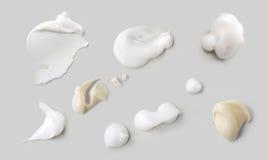 Cream texture Stock Photos