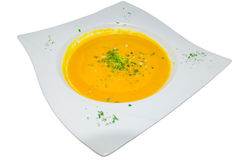 Cream of tomato soup Royalty Free Stock Photography