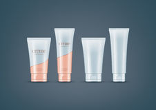 Cream Tubes mock-up set Royalty Free Stock Photos
