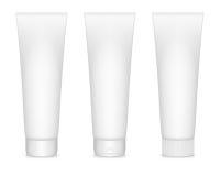 Cream tubes. Vector illustration of blanc cream tubes  on white. EPS10 Stock Photography