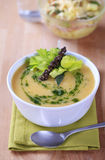 Cream of vegetable soup Royalty Free Stock Image