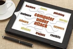 Computer network security concept Stock Photos
