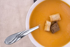 Cream of vegetable soup Royalty Free Stock Photo