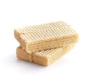 Cream Wafer Bars royalty free stock image