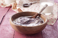 Cream of wheat Royalty Free Stock Photography