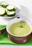Cream of zucchini Stock Image