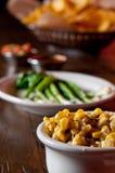 Creamed corn Stock Image