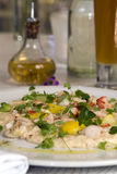 Creamed Crab salad Royalty Free Stock Images