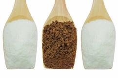 Creamer coffee sugar Royalty Free Stock Photography
