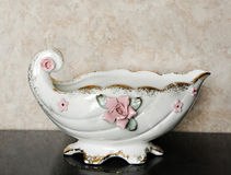 Creamer Dish. Elegant Creamer Dish Photography Prop Royalty Free Stock Image