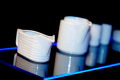 Creamer and other dishware Stock Images