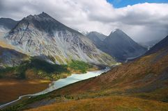 Creamery lake. Altay Stock Photos