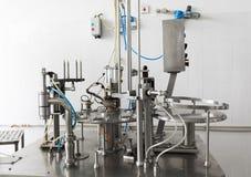 Creamery machine production device Royalty Free Stock Photo