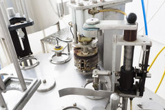Creamery machine production device Royalty Free Stock Images