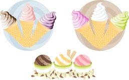 creams льдед yummy Стоковые Изображения RF