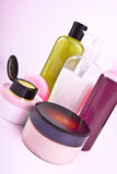 Creams and lotions Stock Photo