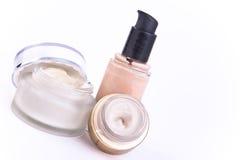 Creams and makeup Royalty Free Stock Image