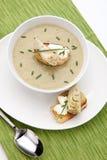 Creamy Artichoke Soup Stock Photography