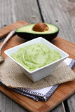 Creamy Avocado Dip Royalty Free Stock Photo