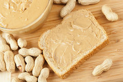 Creamy Brown Peanut Butter Royalty Free Stock Photo