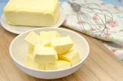 Creamy butter Stock Photography