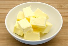 Creamy butter Royalty Free Stock Images