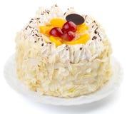 Creamy cake Stock Images