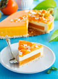 Creamy cake with coconut Stock Photography