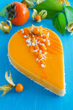Creamy cake with coconut Royalty Free Stock Image