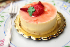 Creamy cake Royalty Free Stock Photography