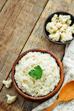 Creamy cauliflower garlic rice Royalty Free Stock Photo