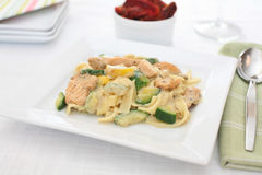 Creamy chicken Alfredo Royalty Free Stock Image