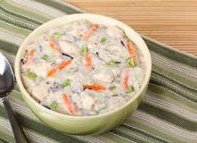 Creamy Chicken Soup Stock Image