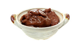 Creamy Chocolate Pudding Royalty Free Stock Images