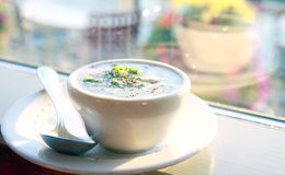 Creamy Clam Chowder Royalty Free Stock Image